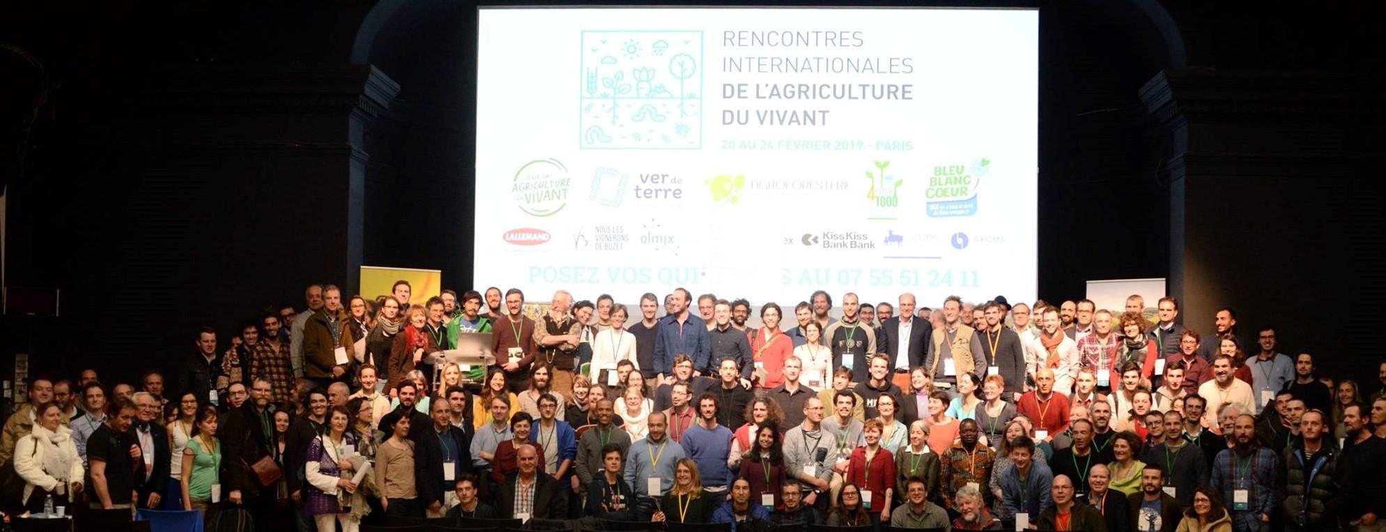Clap de fin – Rencontres Internationales de l'Agriculture du Vivant – Paris – 2019